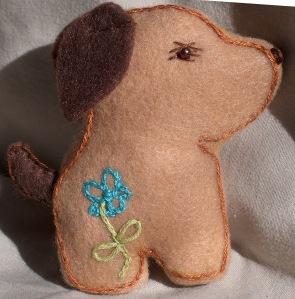 Scottie Dog Softie - Fashion, Sewing Patterns, Inspiration