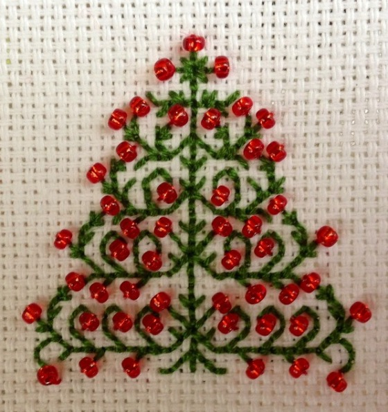 Stitched Christmas Tree